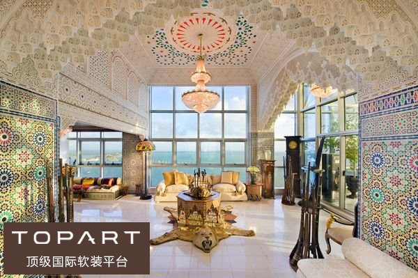 玻璃钢结构打造超豪华别墅家居