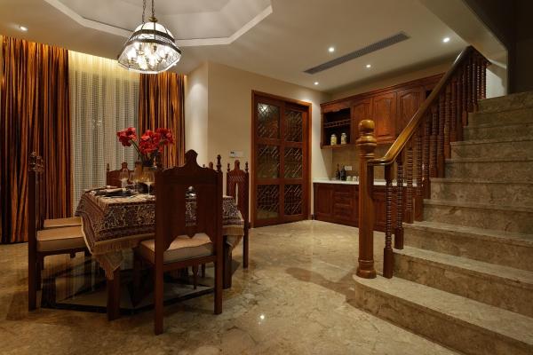惠州奥林匹克花园二期摩洛哥别墅样板房软装设计