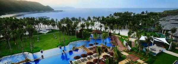 海南三亚半山半岛安纳塔拉度假酒店软装设计欣赏