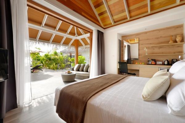 马尔代夫坎多卢岛度假酒店软装设计欣赏