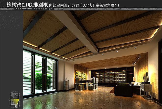 联排别墅样板房软装设计