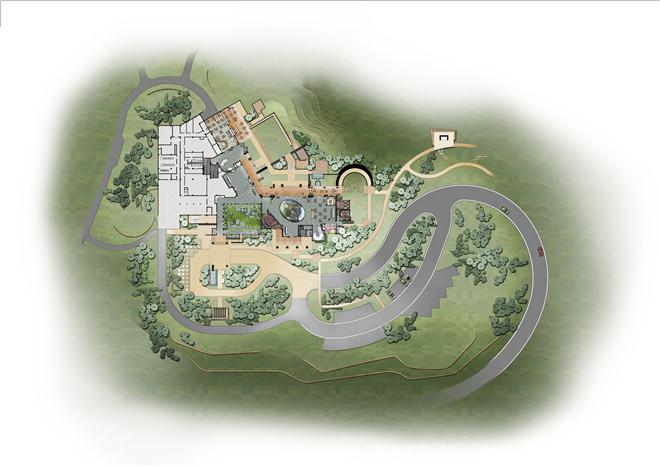 江西赣州庐山西海中信高尔夫会所及酒店软装设计欣赏