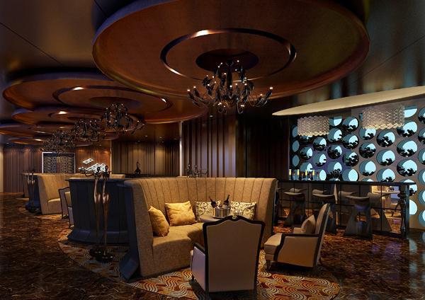青岛岭海温泉大酒店软装设计欣赏