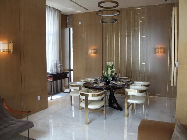 上海金臣别墅软装设计欣赏
