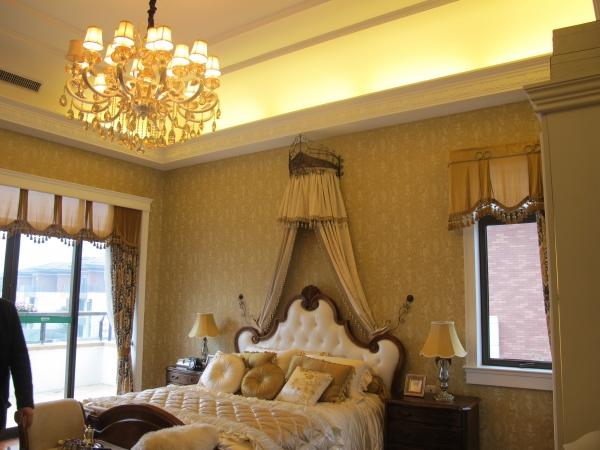 广州 南沙星河丹提别墅样板房软装设计欣赏