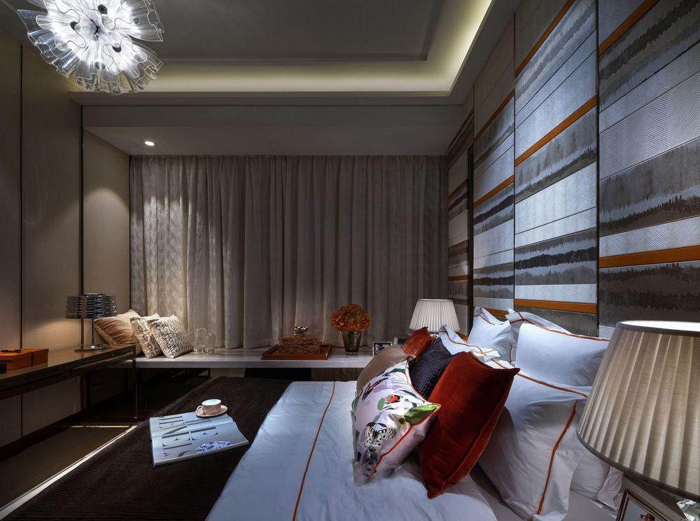 成都凯旋门公寓样板房软装设计欣赏